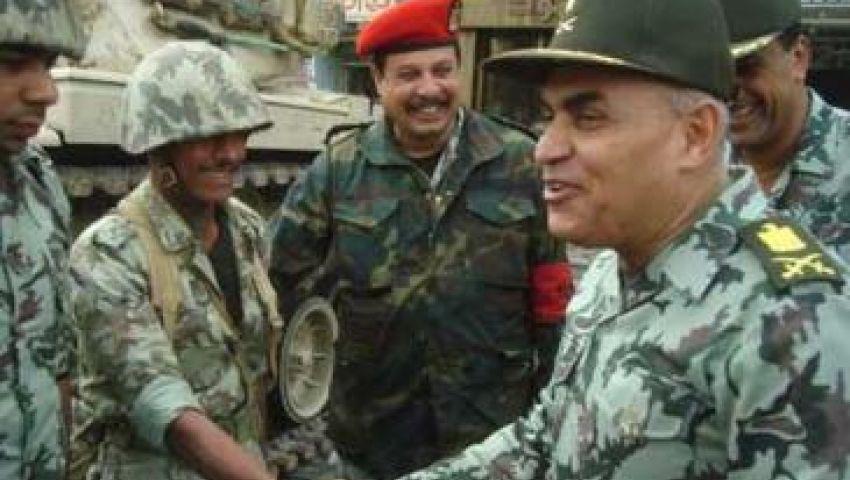 الفريق صدقي صبحي يتفقد القوات المسلحة في سيناء
