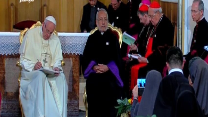 فيديو.. زيارة بابا الفاتيكان لجورجيا