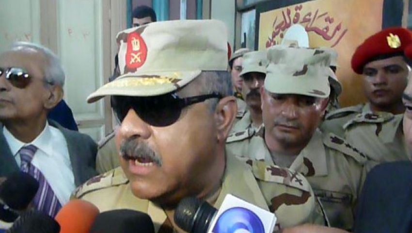 فيديو.. قائد الجيش الثاني: مصر عروسة والشعب عريسها