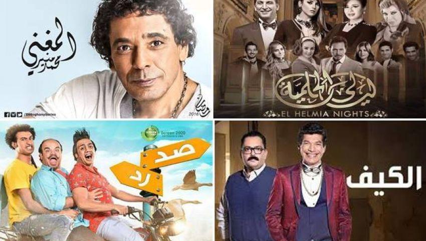 بإجماع النقاد ليالي الحلمية والكيف الأسوء مصر العربية