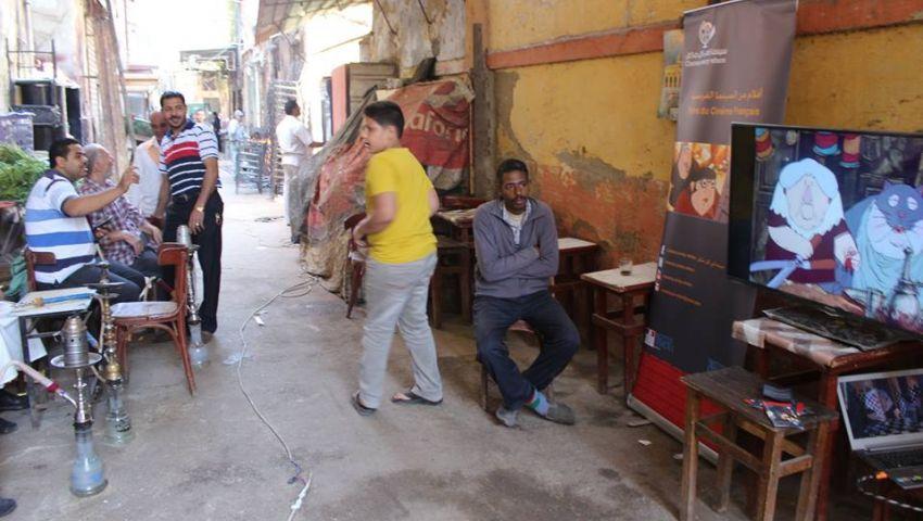 السينما الفرنسية في حارة البطارية بالإسكندرية