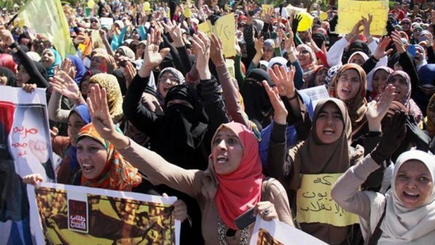 مسيرة لطالبات الأزهر للإفراج عن طالبة معتقلة