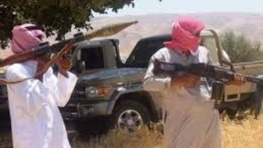 هجوم صاروخي على قسم الشيخ زويد