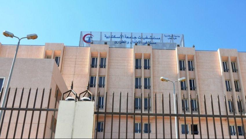 السيطرة على حريق في مستشفى سموحة الجامعي