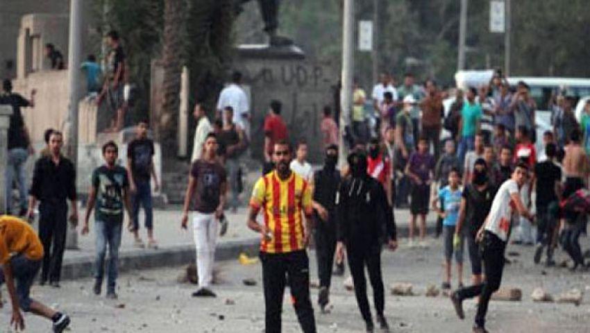 70 مصابًا في اشتباكات بمحيط الحرية والعدالة بالفيوم