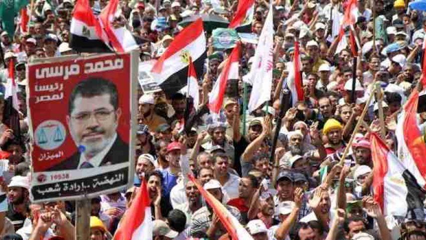 استمرار تظاهرات مؤيدي مرسي في قنا
