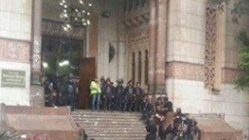 هبة تروي تفاصيل ساعات الحصار فى مسجد الفتح