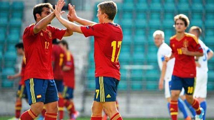 فيديو..إسبانيا إلى دور الـ16 بمونديال الشباب