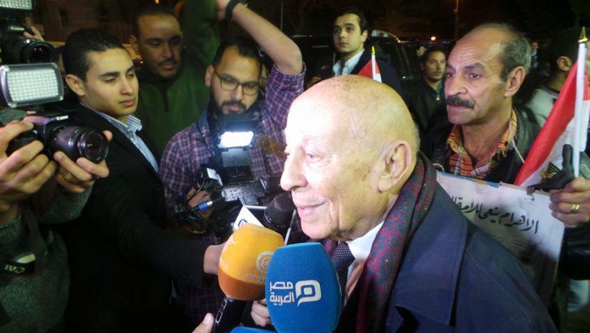 في عزاء هيكل.. رئيس القومي للحقوق الإنسان: مصر فقدت قامة عالمية