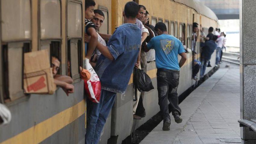 توقف قطار دمياط القاهرة بالمحلة لإنزال أنصار مرسي