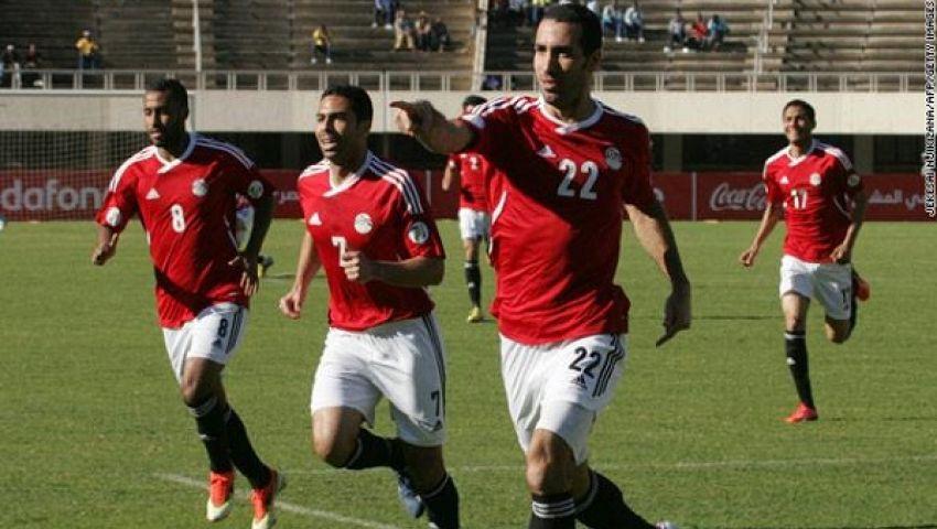 بث مباشر..مباراة مصر وموزمبيق