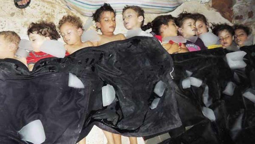 فيديو..الأسد الكيماوي يفتك بـ 1600 سوري