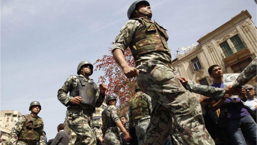 قوات الجيش تبدأ انتشارها فى كافة محافظات مصر