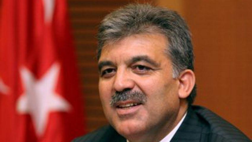الرئيس التركي يبحث مع نظيره الفلسطيني عملية السلام
