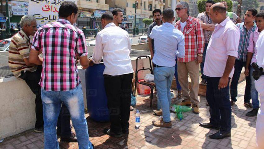 بالفيديو | حملة لإزالة إشغالات التحرير في احتفالية قناة السويس