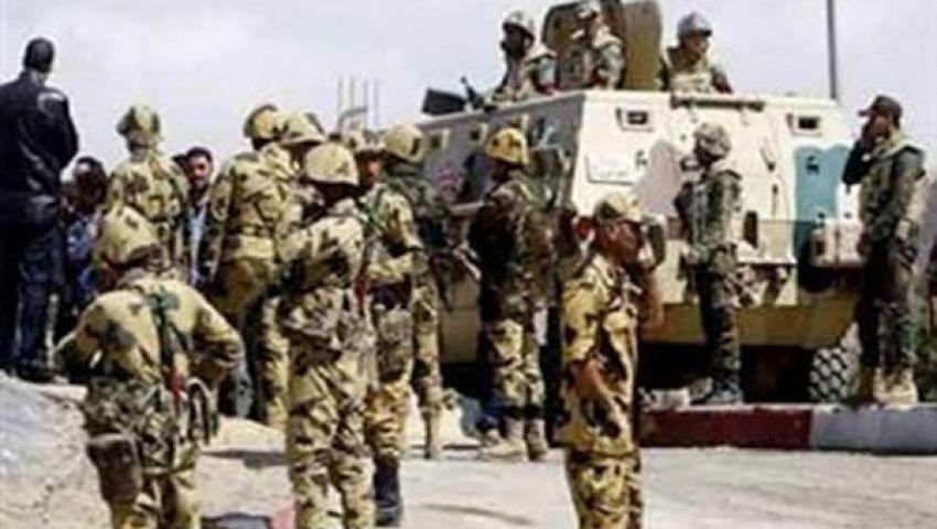 مقتل وإصابة 4 من قوات الجيش في هجوم مسلح بالإسماعيلية