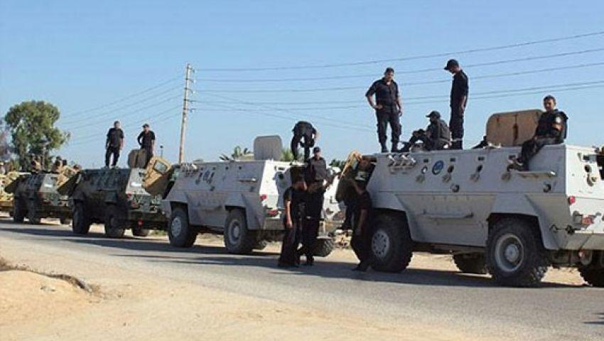مقتل 24 جنديًا في هجوم مسلح على حافلتين بطريق رفح