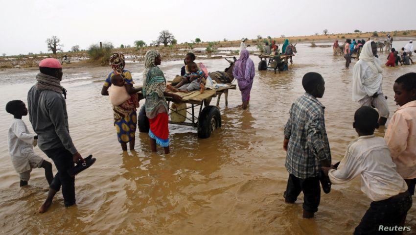 صوت أمريكا: في السودان.. الفيضانات أول اختبار لحكومة حمدوك