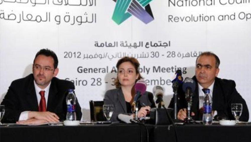 الجربا رئيسًا للائتلاف الوطني السوري المعارض