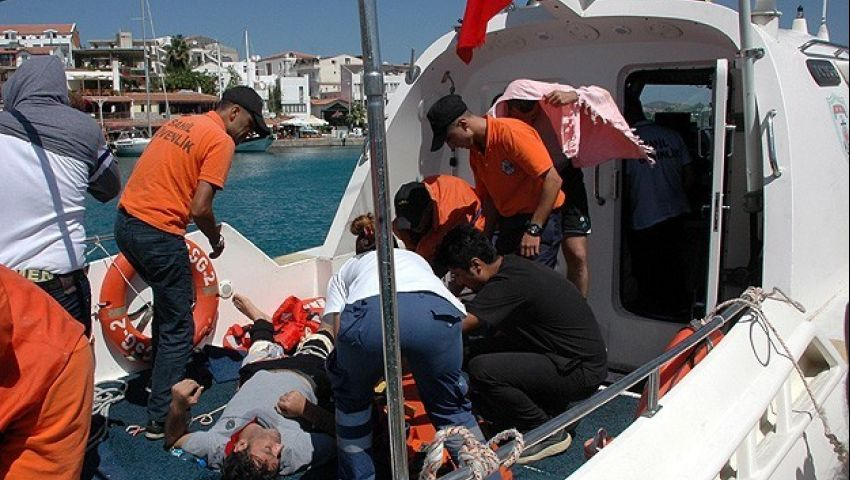 لتركيا يضبط 171 مهاجرا غير شرعي في البحر المتوسط