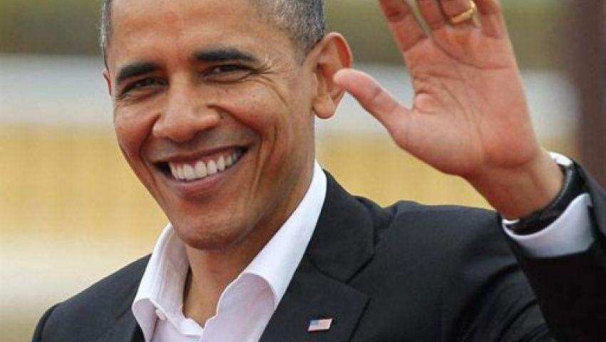 أوباما يشكر امرأة منعت حادث إطلاق نار فى مدرسة بأمريكا
