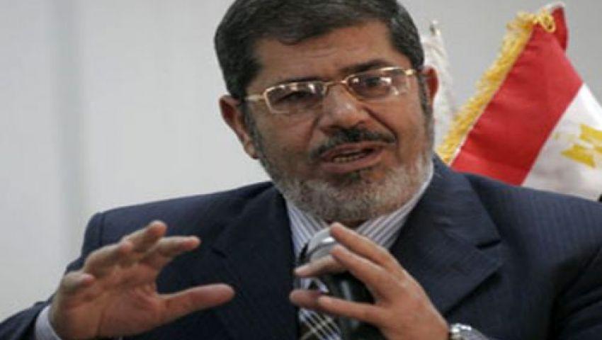 التحالف الوطني: قرار حبس مرسي سيادة لقانون الغاب