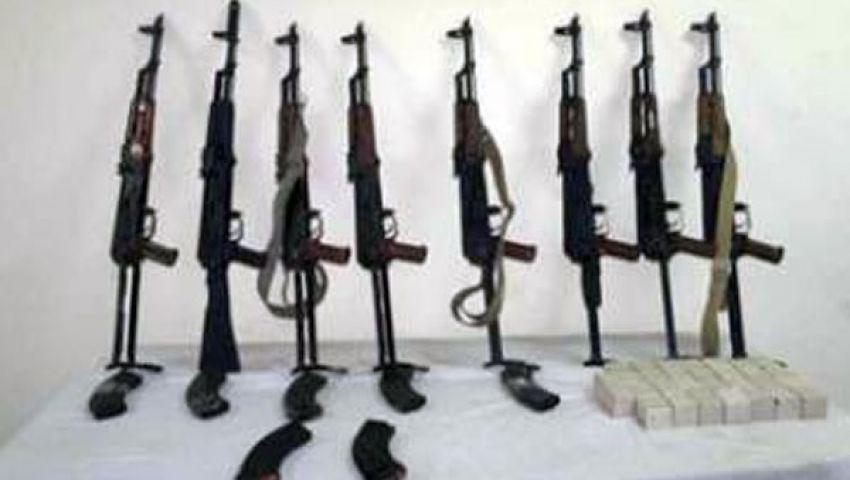 ضبط 15سلاحا ناريا في حملة أمنية بأسيوط