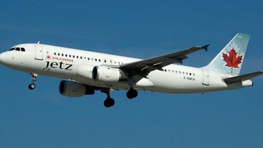 إصابة 25 شخصا إثر خروج طائرة كندية عن مسارها