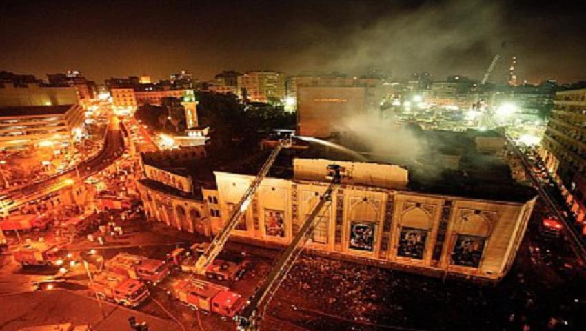 متى يحترق المسرح القومي؟