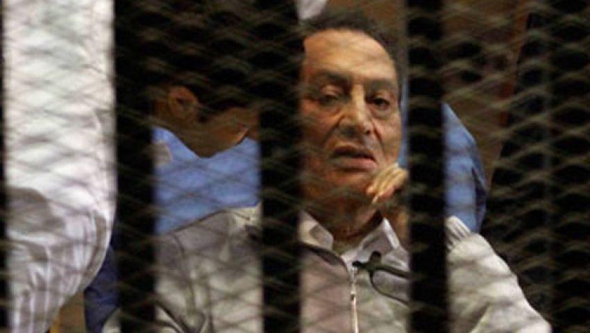 جلسة سرية لنظر الطعن على إخلاء سبيل مبارك