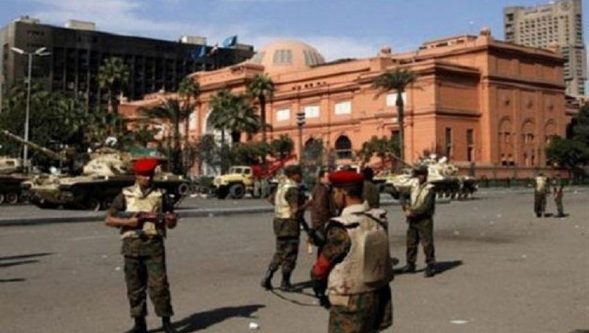 تعزيزات أمنية ولجان شعبية لتأمين المتحف المصري