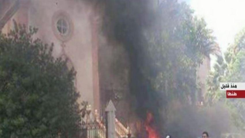 المحامي العام يأمر بتشكيل فريق عمل لمعاينة موقع انفجار كنيسة مارجرجس بطنطا