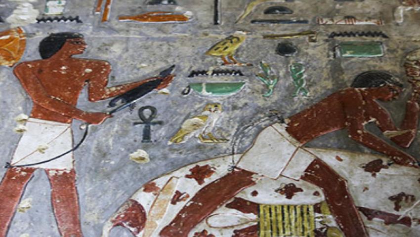 صور| كل ما تريد معرفته عن  مقبرة «خوي»  شبيهة الأهرامات