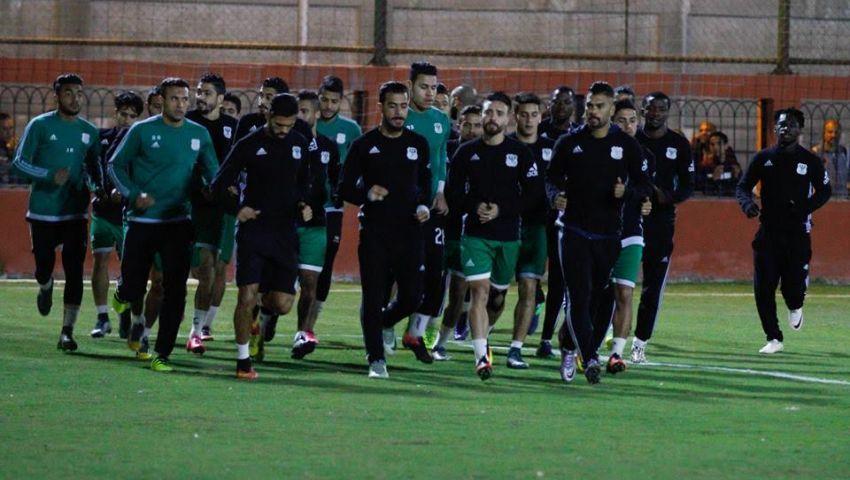 إبراهيم حسن يشرح  لجماهير المصري أسباب هزيمة المقاصة