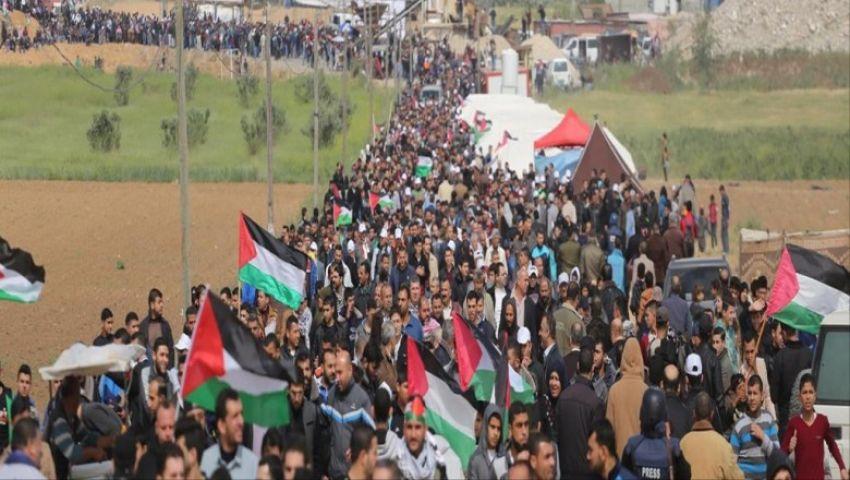على حدود غزة.. تعرف على تفاصيل مليونية «يوم الأرض»