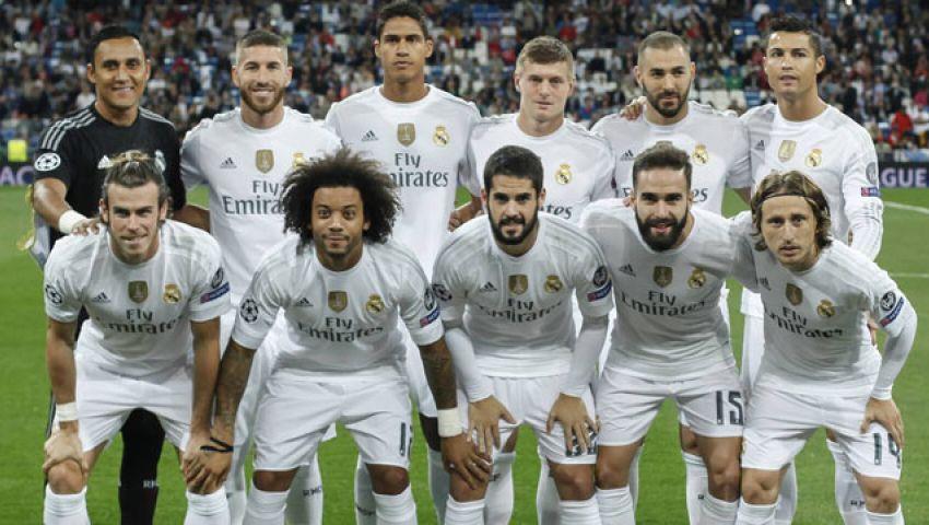 بالأعوام   تواريخ نهاية عقود لاعبي ريال مدريد