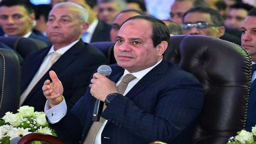 في نسخته الـ8.. السيسي يشهد انطلاق المؤتمر الوطني للشباب