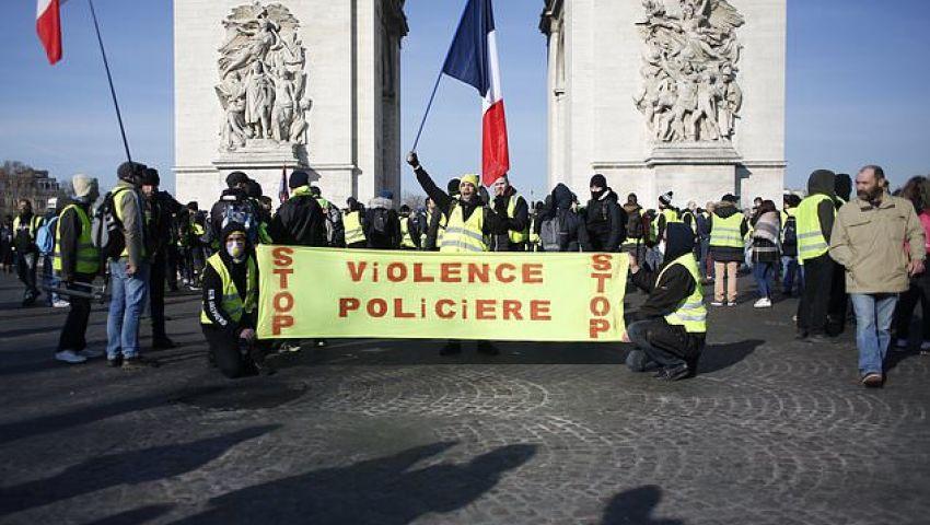 الفرنسية: بعد أشهر من التظاهرات.. «السترات الصفراء» بشعارات جديدة