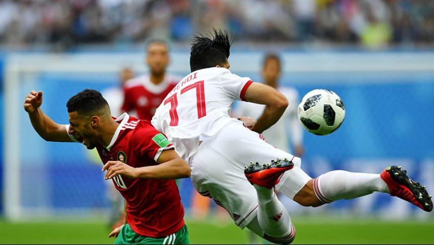 مونديال روسيا.. المغرب يخسر من إيران بهدف قاتل