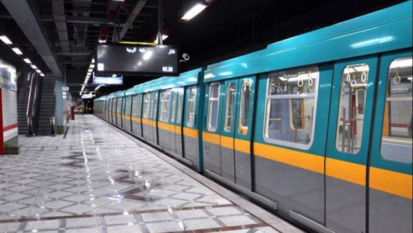 توقف جزئي بحركة قطارات الخط الثالث للمترو