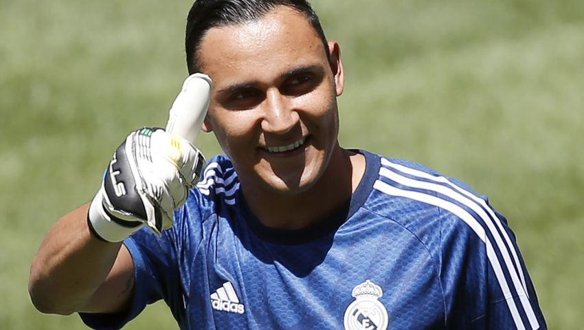 نافاس يحمي عرين ريال مدريد لأول مرة