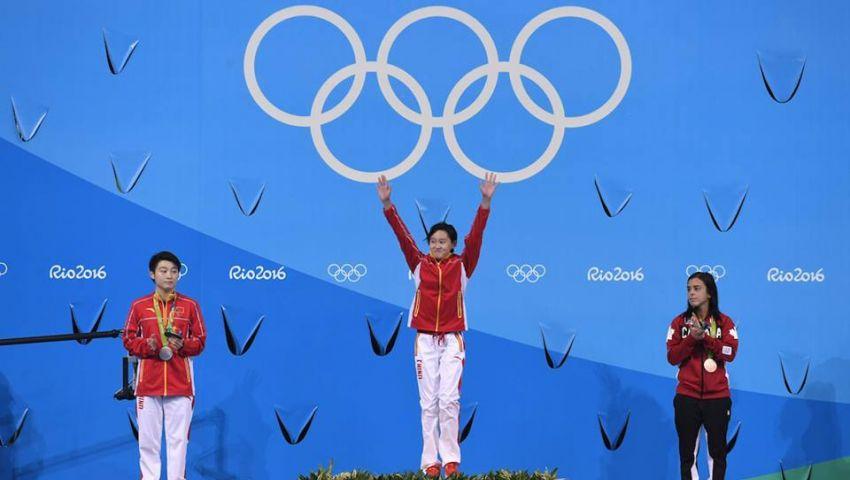 الصينية رين ثاني أصغر لاعبة تتوج بذهب الغطس