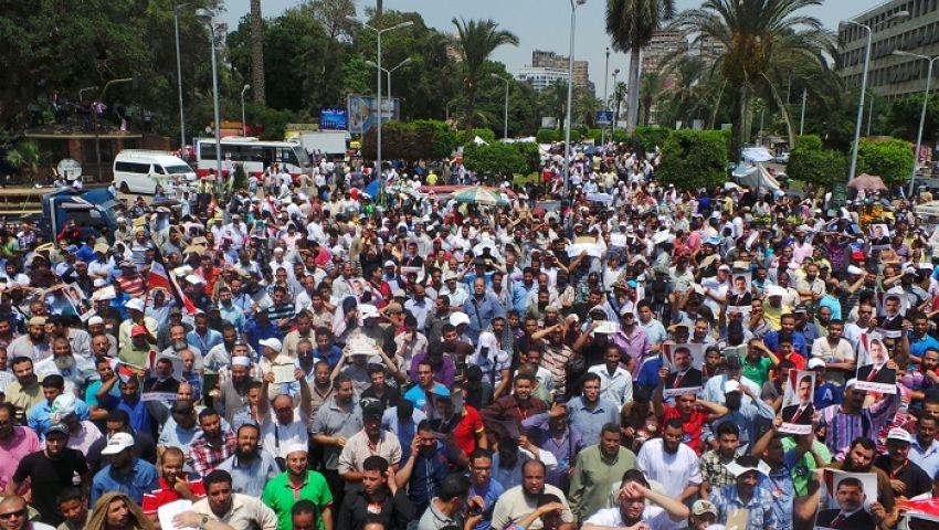 وصول مسيرة من عرب أبو النمرس للنهضة