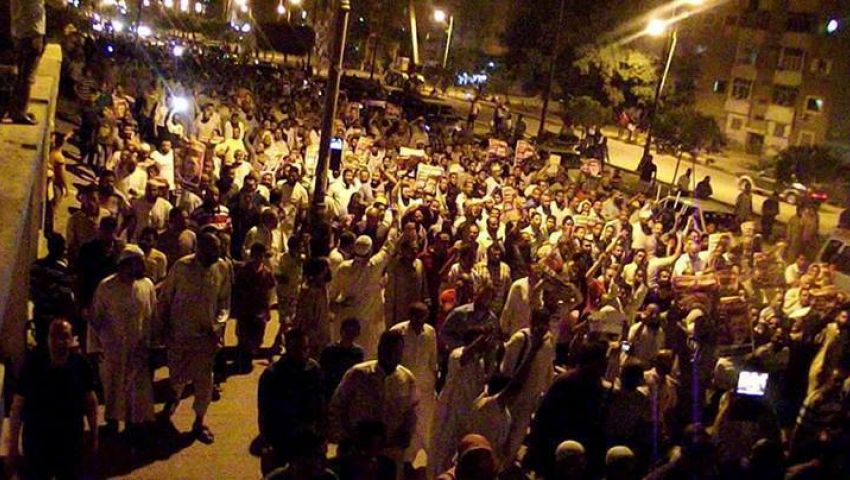 فيديو.. مسيرات لإخوان الإسكندرية للمطالبة بعودة مرسي