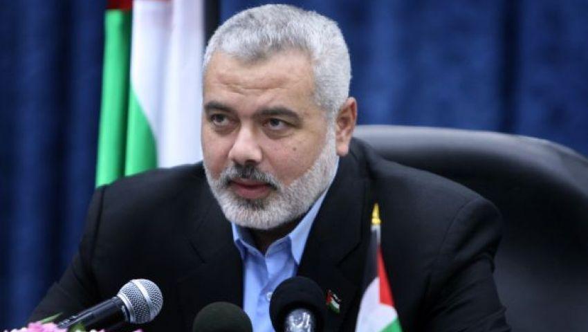 هنية يستقبل مبعوث عباس لاستكمال المصالحة