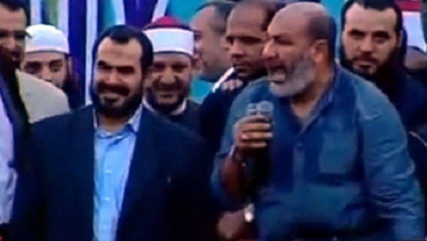 حجازي: سنقضي العيد في ميدان رابعة العدوية
