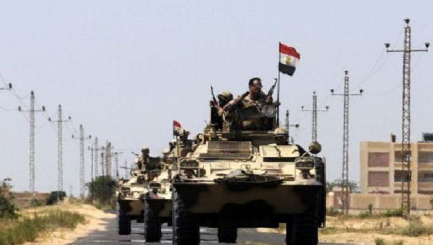 مسئول عسكري: قتلنا 32 من حماس بسيناء.. واعتقلنا 45