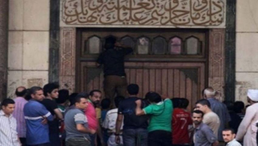 الداخلية: ضبط 385 شخصًا بمسجد الفتح