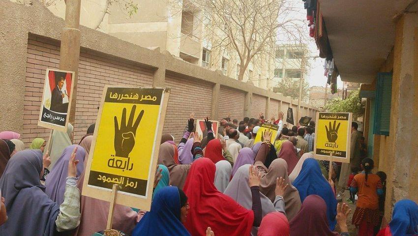 4 مسيرات معارضة ببني سويف في أولى فعاليات مصر في خطر