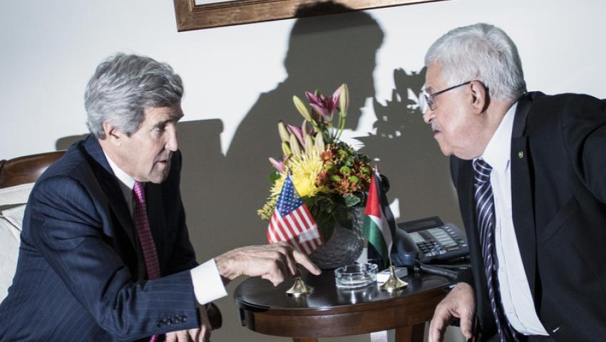 عباس وكيري يبحثان دعم المبادرة الفرنسية لعقد مؤتمر دولي للسلام
